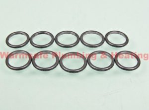 vaillant 981176 packing rings pack of 10 1