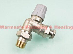 """danfoss 013g0149 ra-fn angled valve 1/2""""15mm 1"""