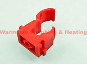 jg speedfit pc15r 15mm pipe clip set of 50 1