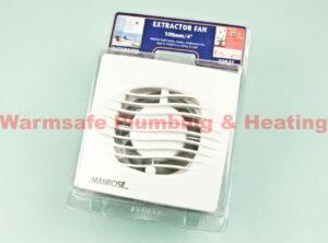 """manrose wnf4tb extractor fan 100mm/4""""1"""