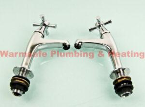 deva milan103 sink taps chrome plated 1