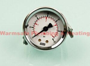 worcester 87161423590 gauge pres.60mm flpanelmnt4bar (ss kit) 1